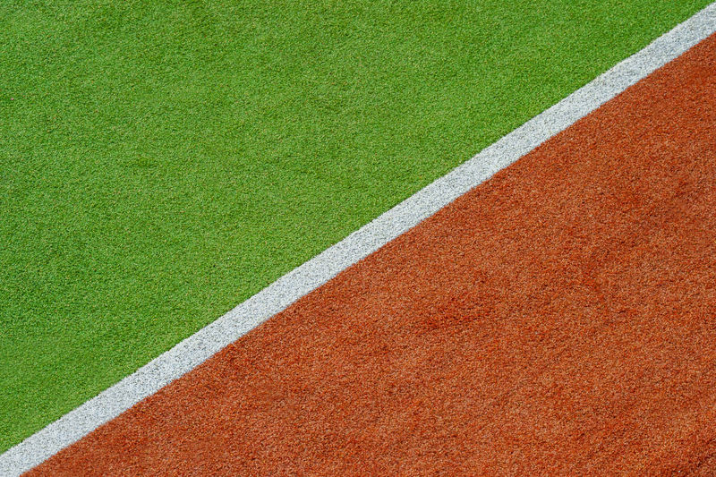 Texture of the herb cover sports in tennis, golf, baseball, field hockey, football, cricket, rugby Baseball Field Football Golf Grass LINE Stadium Tennis Textured  Action Backgrounds Club Color Grass Area No People Soccer Sport Sports