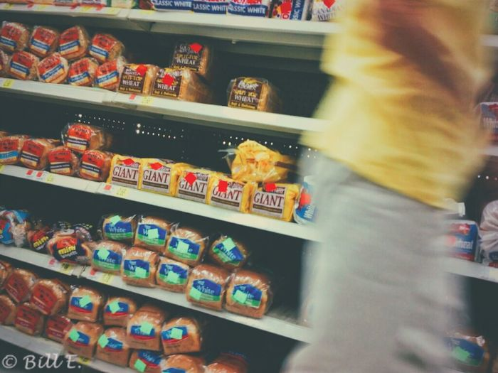 The bread aisle... Vscocam People Watching Shopping Vscocamforandroid