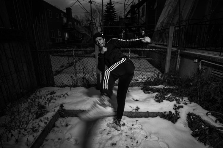 backyard session Cold Temperature Winter Streetphotography Street Fujifilm Fujifilm_xseries Wide Angle Adidas Portrait Portrait Photography portrait of a friend Streetwear Full Length Blackandwhite Instagood EyeEmNewHere EyeEm Best Shots EyeEm Nature Lover Streetphoto_bw Backyard Backgrounds Nikon Canon Rokinon Samyang