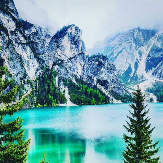 beautiful day at Pragserwildsee , Lago Di Braies My Year My View 2016