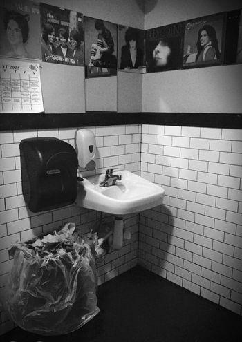 Nashville Black&white Photography Barhroom