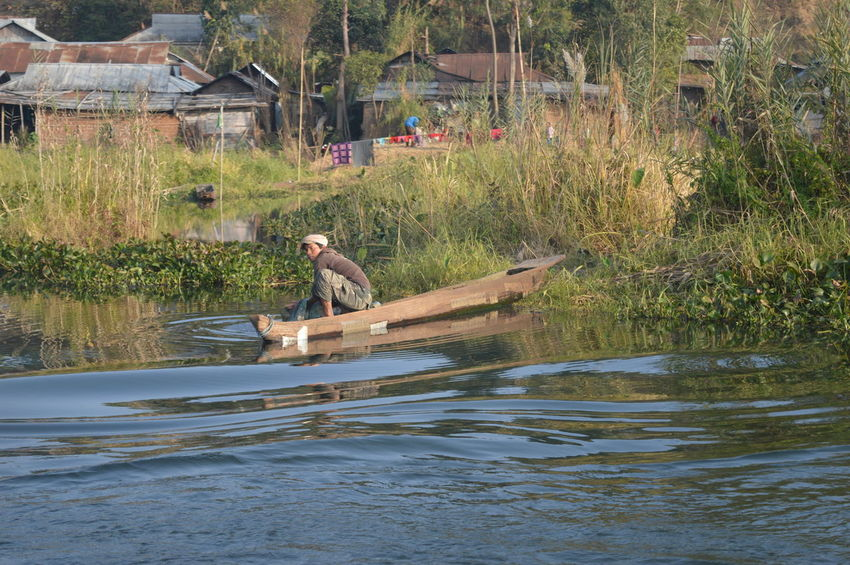 Life in the historic Loktak Lake in India's Manipur bordering Myanmar. Lifestyle Loktak Nature Outdoors People The Great Outdoors - 2016 EyeEm Awards Water The Traveler - 2018 EyeEm Awards
