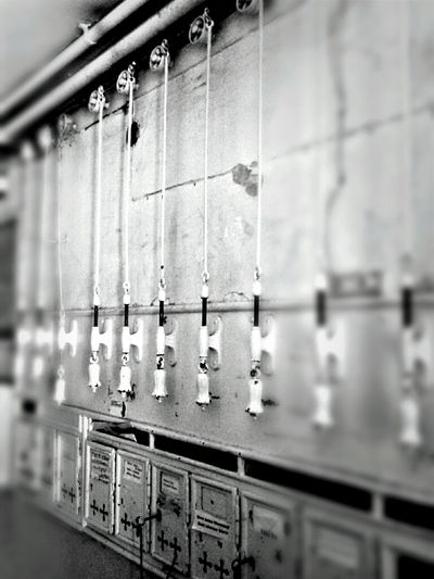 Blackandwhite Rows Of Things Doorbells AMPt - Expectation