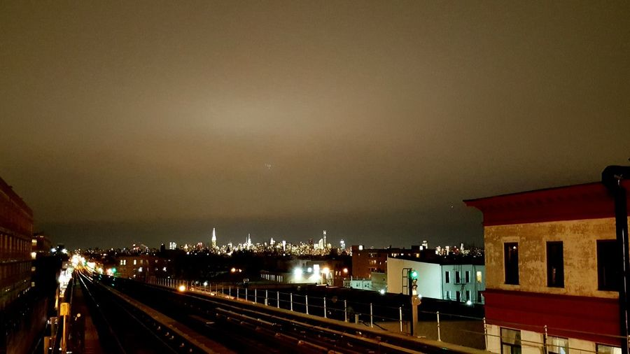Newyorkcity Urban Landscape All The Neon Lights Night Photography Brooklyn Nyc Mta Nyc Transit View From Platform Gotham Nyc City Bushwick Manhattan Skyline Cities At Night New York City Battle Of The Cities My Commute Illuminated The Street Photographer - 2017 EyeEm Awards The Architect - 2017 EyeEm Awards Brooklyn Neighborhood Map Been There. Stories From The City