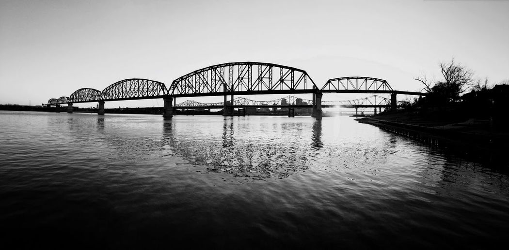 Sunset Sunset Silhouettes Blackandwhite Black And White Black & White Bridge Bridges Bridgeporn