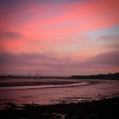 Landscape_Collection Nature Raheny Sunset Dublin, Ireland Clouds And Sky Poolbeg OpenEdit