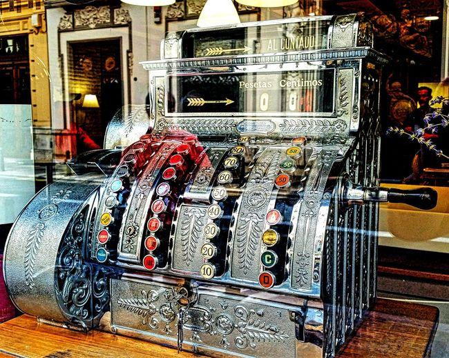 Caja Registradora Cashregister Oldcashregister Antigüedades Vintage Junio June Verano Summer