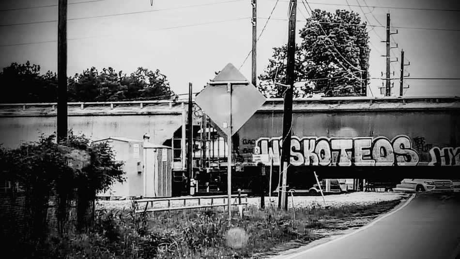 Check This Out Trains Waiting For Train To Pass Graffiti Graffiti On Trains Black And White Photography Train Photography Graffiti Writers Human Meets Technology Human Meets Old Technology The Architect - 2017 EyeEm Awards