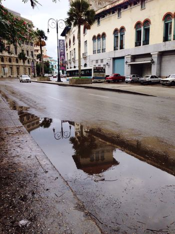 Showcase: November Hello World Hanging Out Downtown Cuba Havana Rainy Days Reflection Mirrorreflection Taking Photos Relaxing Architectural Feature Nostalgia Enjoying Life Getting Creative