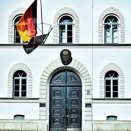 Architecture Germany Flag Munich