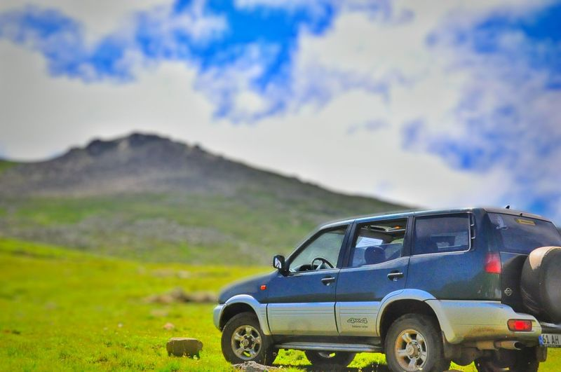 Offroad Natural Beauty Green Green Green!  Nissan Terrano ıı Robust Rescue First Eyeem Photo