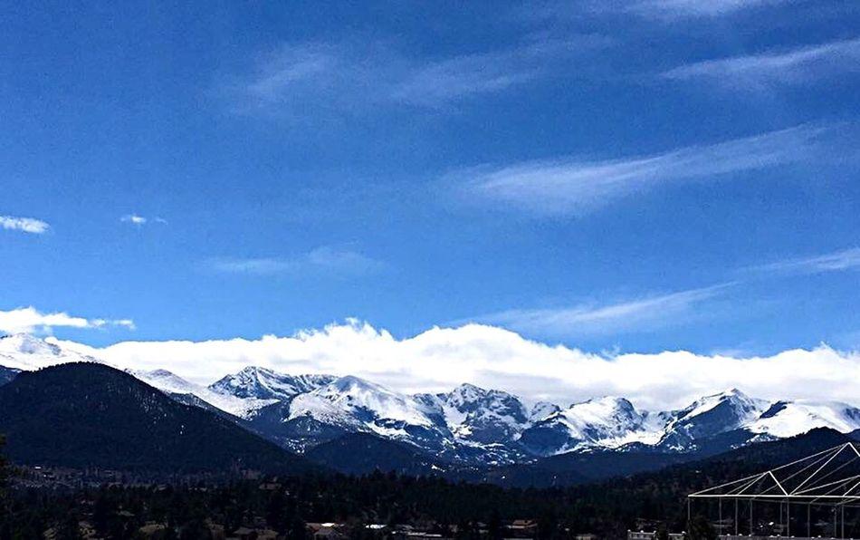 Mountain Snow Scenics Mountain Range Beauty In Nature Nature Snowcapped Mountain Cloud - Sky Landscape EyeEmNewHere Colorado