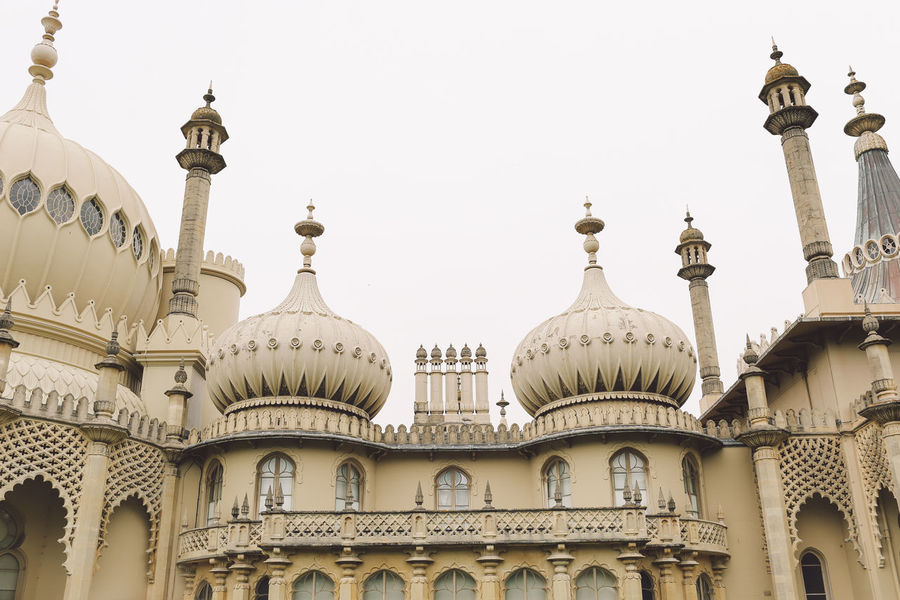 Arch Architectural Column Architectural Feature Architecture Brighton Built Structure Capital Cities  City Culture Day Dome Façade Famous Place High Section History Low Angle View No People Ornate Outdoors Royal Pavilion Royal Pavilion Gardens Sky Tourism Travel Destinations