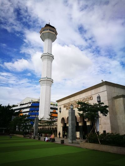 Tower Travel Destinations Sky Mosque Bandung, West Java Architecture City