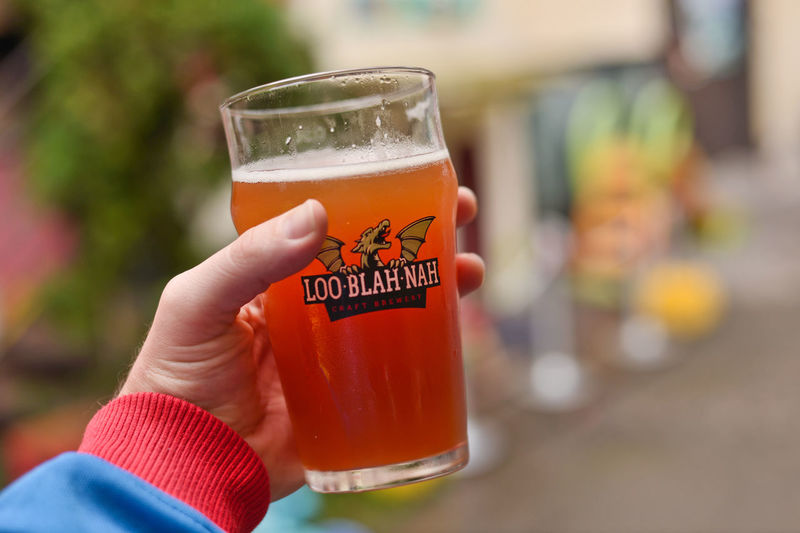 Ale Beer Beer Glass Carbonated Chilli Festival Close-up Craft Beer Day Drink Drinking Glass Focus On Foreground Food Food And Drink Food And Drink Food Market Holding Hot Human Body Part Human Hand Loo Blah Nah One Person Outdoors People Refreshment Vegetable