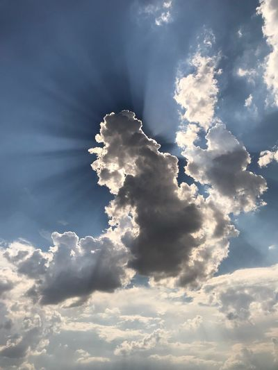 Wolken, Himmel, Natur Sky Beauty In Nature Nature Tranquility Low Angle View No People