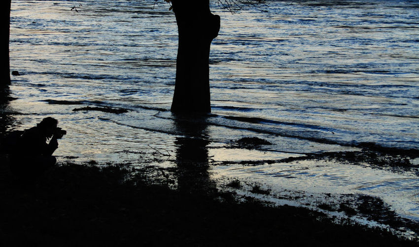 Disaster Flood Nature People Photographer Reportage Reporter ReportReportReport Shadow Silhouette Water Working