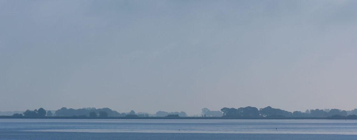 Weerribben Morning Morning Light Morning Sky Netherlands Overijssel Boating