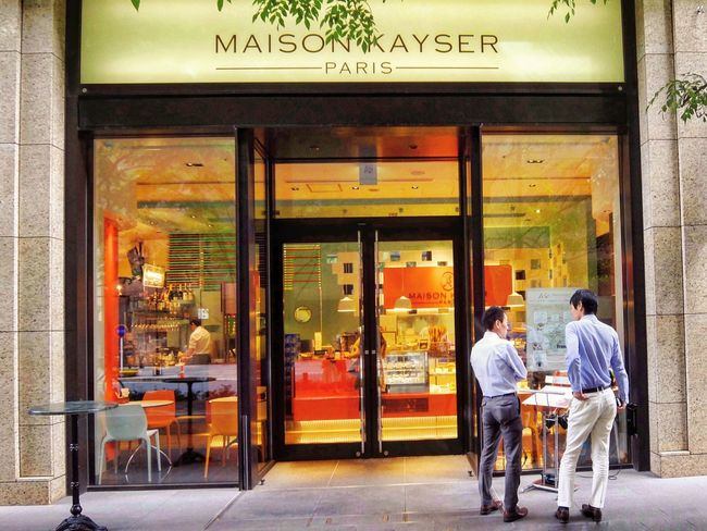 maison kayser Shop Streetphotography Walking Around Enjoying Life Olympus Om-d E-m10 Tokyo Japan このレンズ、ほんと、歪みますね〜😅の連投