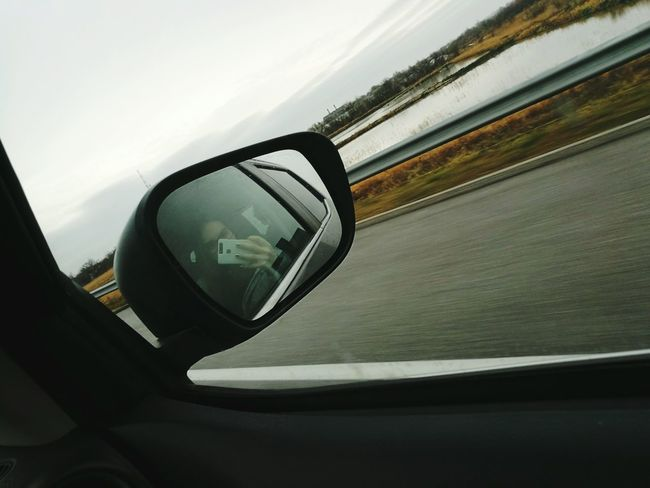 Travel Transportation Car Side-view Mirror On The Move Day Sky Outdoors Speed Journey Nissan Navara Hungary Water