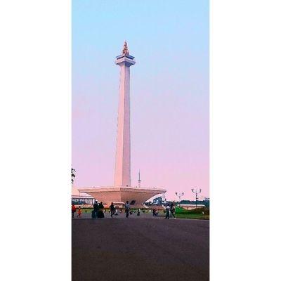 hello Monas jakarta INDONESIA