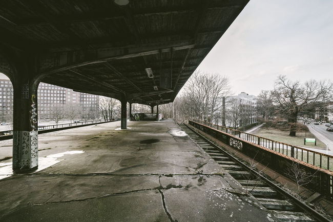 Abandoned train station Siemensstadt Abandon_seekers Abandoned Abandoned & Derelict Abandoned Places Abandoned_junkies Composition Diminishing Perspective Engineering Forgotten Hidden Lost Places Lostplaces Narrow Perspective Platform Public Transportation Rail Transportation Railroad Station Railroad Station Platform Railroad Track Railway Track The Way Forward Transportation Travel Vanishing Point