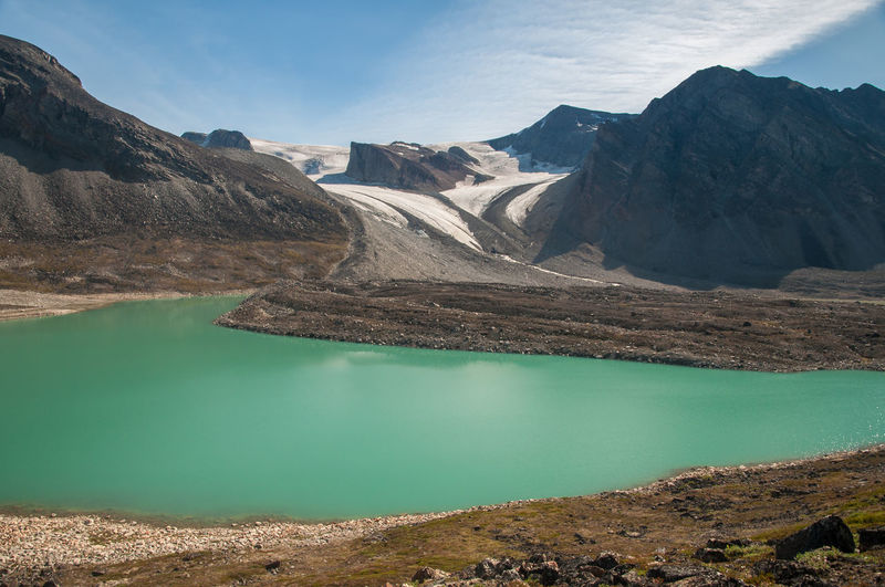 Beauty In Nature Greenland Lake Mountain Mountain Range Nature No People Outdoors Water