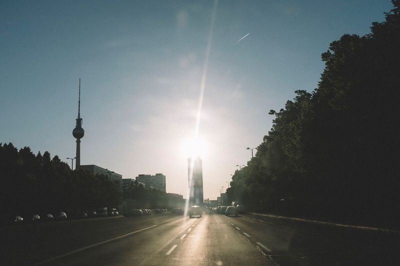 Berlin Berlin Architecture Travel Destinations Built Structure Travel Sky Tower Sun No People Day Nature City