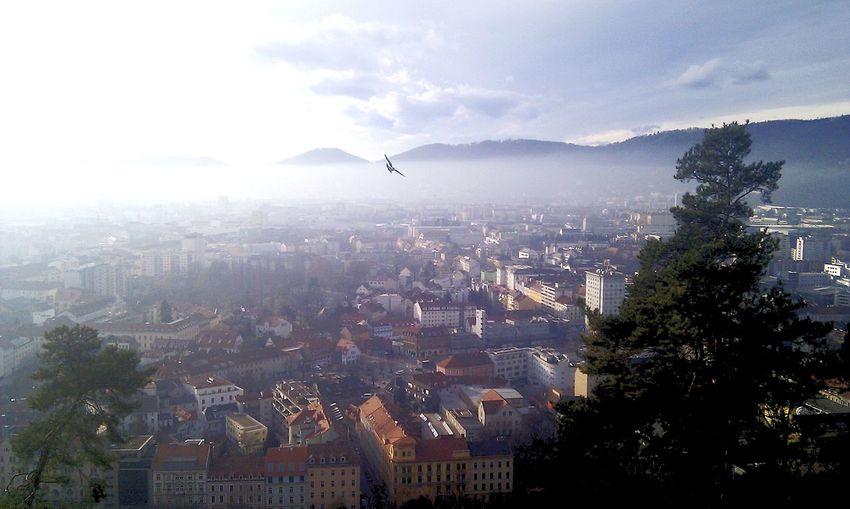 The city of Graz Gratz Nature Nature Photography Mountain Austria