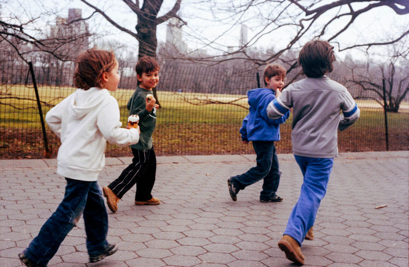 Boys Central Park Childhood Elementary Age Ice Ceram Kids Leisure Activity Love Playing Today I Turn 30