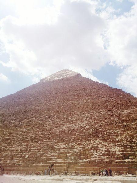 Egypt Thegreatpyramid Giza Cairo
