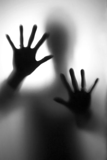Fear Close-up Crime Danger Dark Depressed Dislike Drama Emotion Fear Hands Horror Human Human Finger Men Monochrome Nightmare Palm Person Rejection Scared Shocked Silhouette Spooky Stop Unrecognizable Person