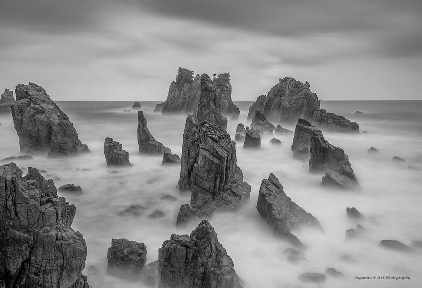 Black And White Photography Black & White Beauty In Nature Monochrome Photography Monochrome Rock Formation