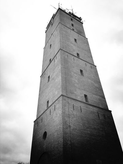 Brandaris Hanging Out On Terschelling Torentje Lighthouse