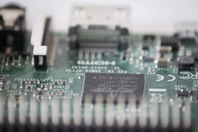 Technology Computer Chip Circuit Board Mother Board Selective Focus Electronics Industry Close-up Computer Equipment No People Computer Part Indoors  Complexity Raspberry Pi