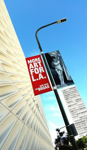 Yes please. Exhibition Art Museum Losangeles Thebroad