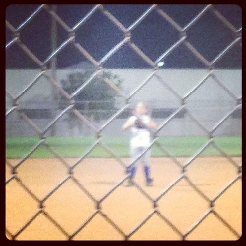 Catcher 3rdbase 3rd Littlecousin cousin krista park ballpark softball kingman kingmanaz az arizona