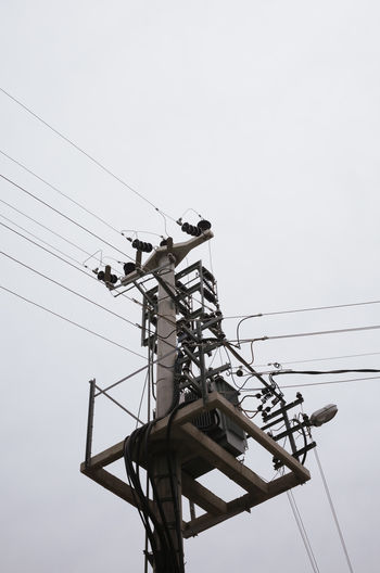 Travel Travel Photography Cable Clear Sky Connection Day Electricity  Electricity Pylon Fuel And Power Generation Low Angle View Nature No People Outdoors Power Line  Power Supply Sky Technology