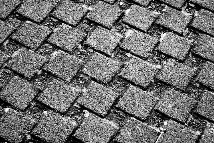 Black And White Pebble Pebblestones Sidewalk Cobblestone Cobblestone Streets Backgrounds Full Frame Textured  Pattern Shadow Sunlight Abstract Close-up Surface Rough Stone Rugged
