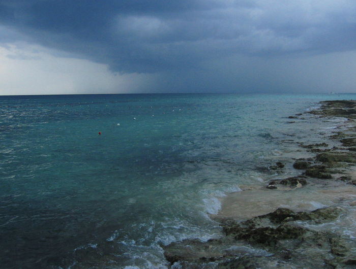 2007 Dominican Republic Dominicus Beach Stormy Weather Cloud - Sky Horizon Over Water Nature No People Outdoors Scenics Sea Sky Water Wave