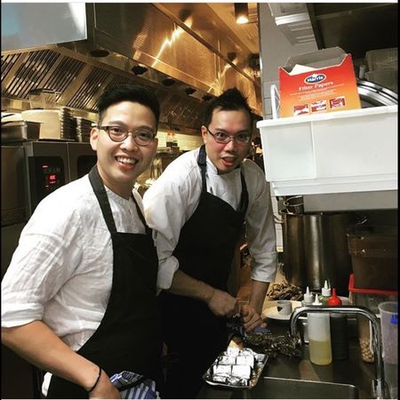 *photograbbed. Credits to the owner of the photo. 📸 Chef Brothers Cooking Passion Leehofook Melbourne Happy Cheflife Howtheyroll