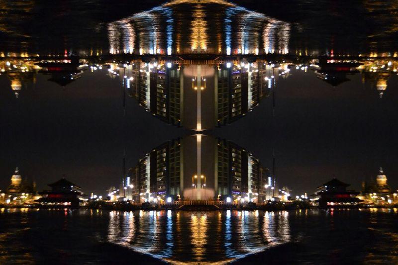 Rotterdam Rotterdam By Night