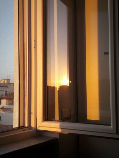 43 Golden Moments Architecture City Day From My Point Of Vie My Window Reflection Golden Sunset Golden Sunset Building Glimpse Of Sky