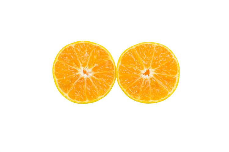 Citrus Fruit Close-up Copy Space Cross Section Food Food And Drink Freshness Fruit Group Of Objects Healthy Eating Indoors  No People Orange Orange - Fruit Orange Color Ripe SLICE Still Life Studio Shot Wellbeing White Background