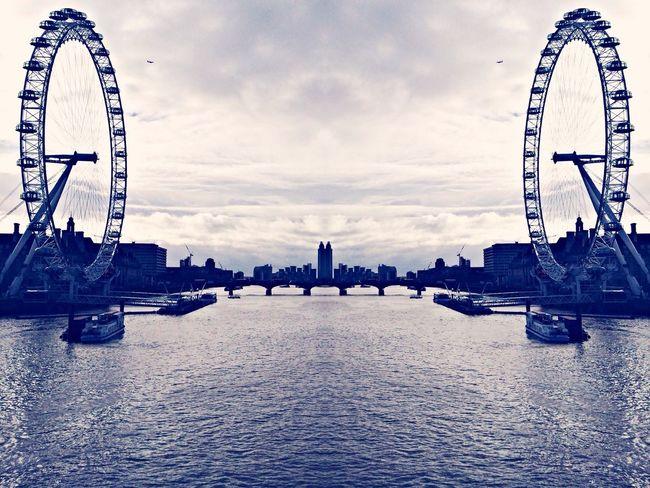 Black And Less White Monochrome London Eye EyeEm Bnw