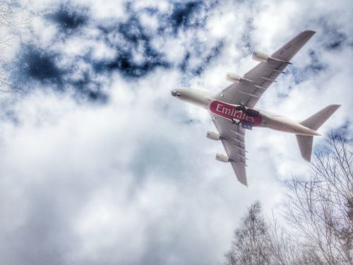 A380 Airbus Airport Cloud - Sky Cloudy Culture Day Emirates Low Angle View Manchester No People Outdoors Sky