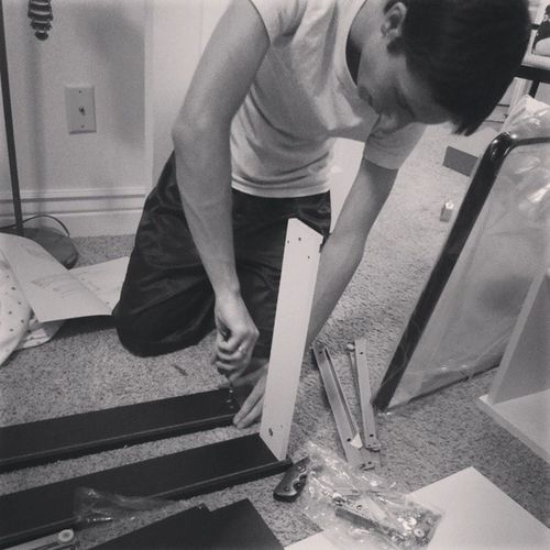 Look at this little man building all sorts of stuff for me. Littlebro Builder Family Thankyou benthebuilder happy fam love littleman strong
