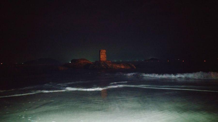 海之柱 Night Sky