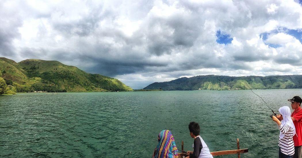 Fishing Lake Toba