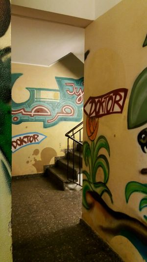Capture Berlin Indoors  Architecture Street Art Art No People Tags Straiway Hallway Doctors Office Doctor  Architecture Indoors  Place Of Worship Close-up Day